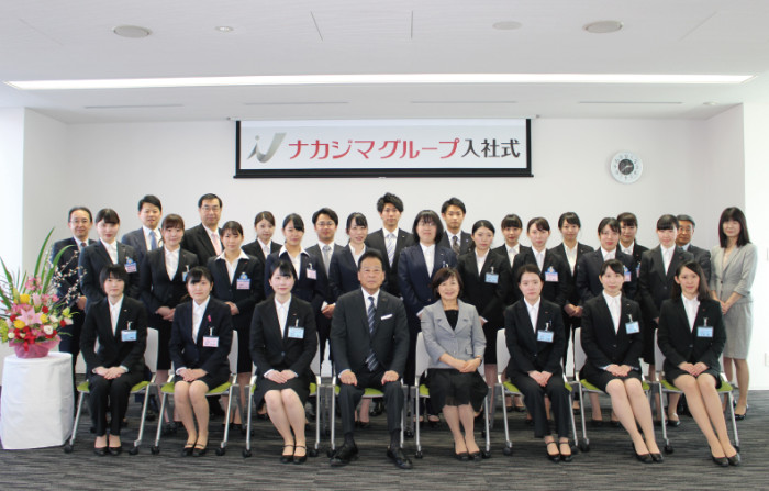 平成30年度ナカジマグループ入社式