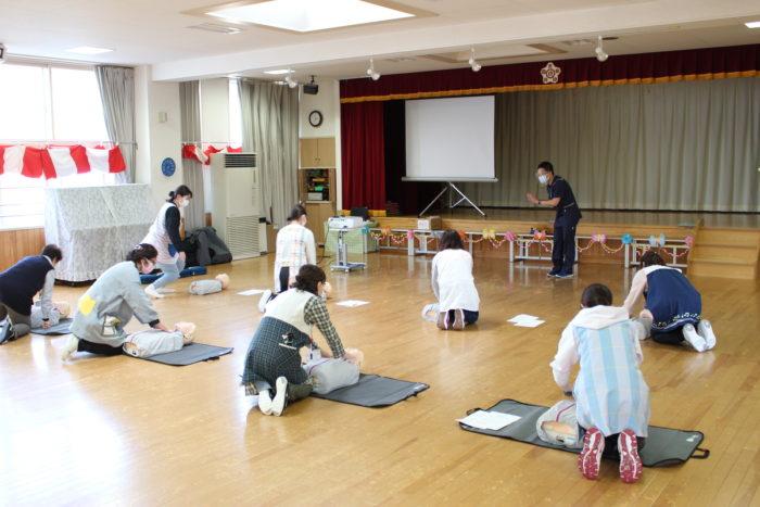 【地域活動】AED講習会を実施いたしました